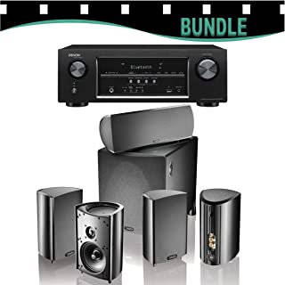 Denon AVR-S510BT 5.2-channel home theater receiver with Bluetooth NOW WITH Definitive Technology ProCinema 800 System!