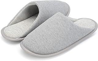 NineCiFun Womens Comfort House Slippers Indoor Outdoor Moccasin Slippers
