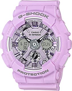 g shock purple white