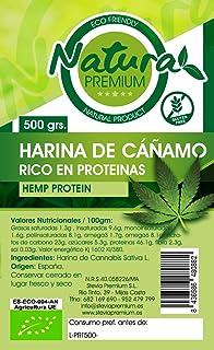 Natura Premium Cañamo - Harina Proteina  Bio 500 g