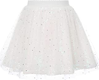 Danna Belle Girls Tulle Tutu Skirts 3 Layered Tutu Skirt 4-12 Years