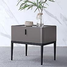 Bedside Table Bedside Table Small Mini Bedroom Modern Narrow Side Locker Nightstand Side Table Side Table and Nightstand (...