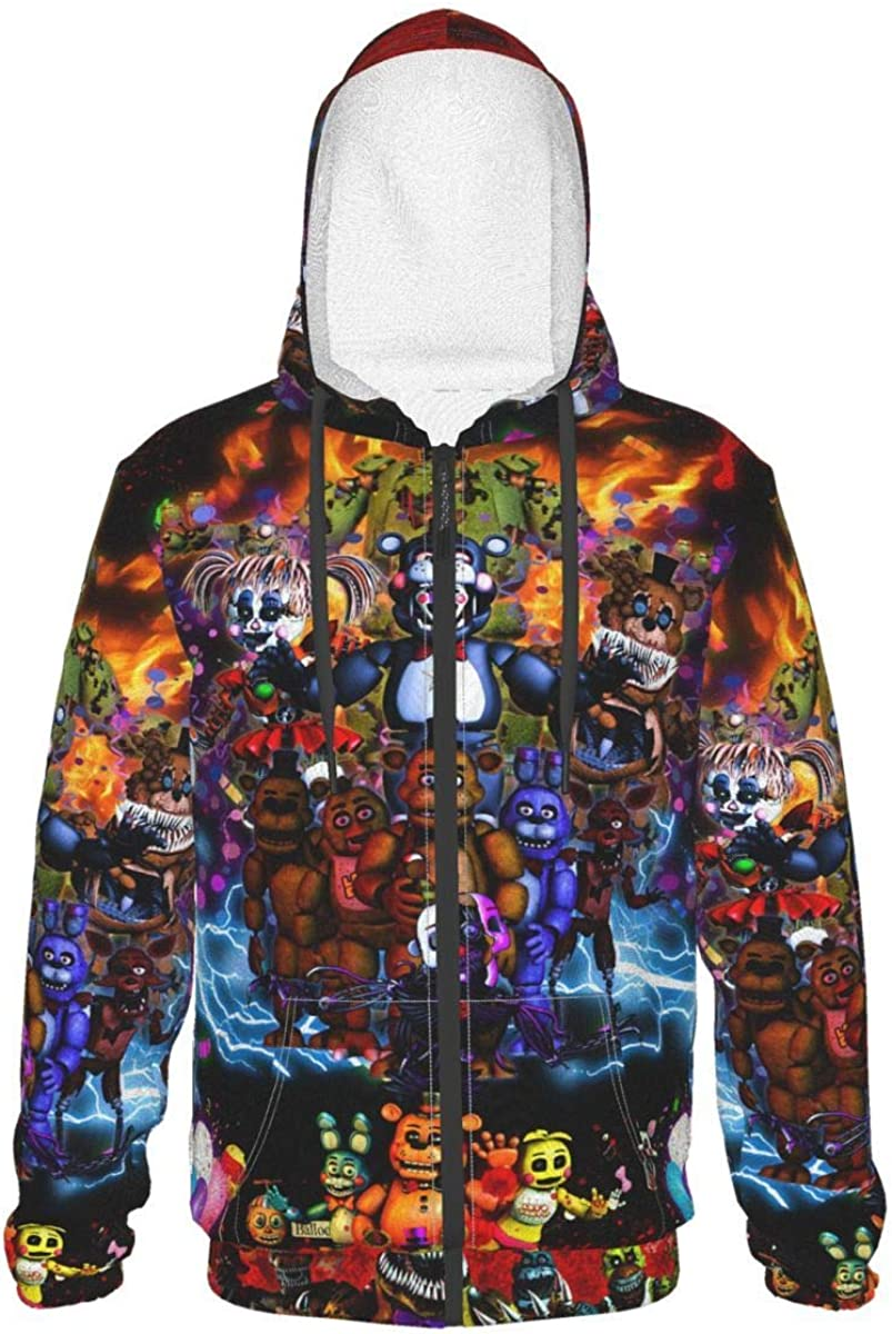 Bombing free shipping Teen Five-Nights-At-Freddy'S Cheap super special price Hoodie Long Zi With Sleeve Pullover