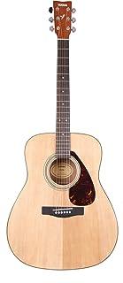Yamaha F370 Guitarra Acústica Guitarra Folk 4/4 de madera, escala 634 mm, 25 pulgadas, 6 cuerdas metálicas, Color Natural