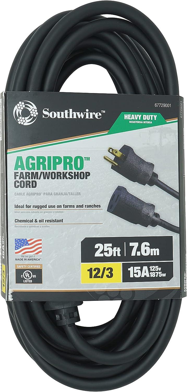 AgriPro 67729001 Gorgeous 12 Excellent 3 25-Foot Heavy-Duty Amp Works SJTOW Farm 15
