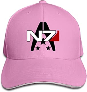Mass Effect Alliance N7 Special Forces Flex Baseball Cap White