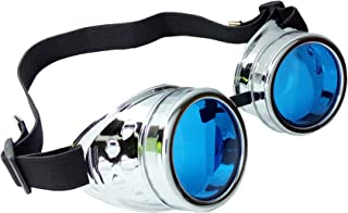functional steampunk welding goggles
