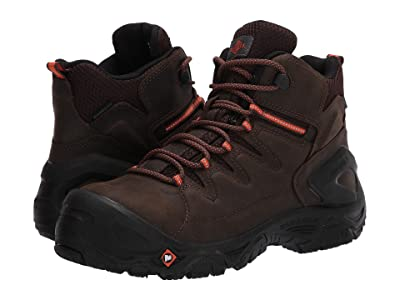 Merrell Work Strongfield Leather 6 Waterproof Composite Toe (Espresso) Men