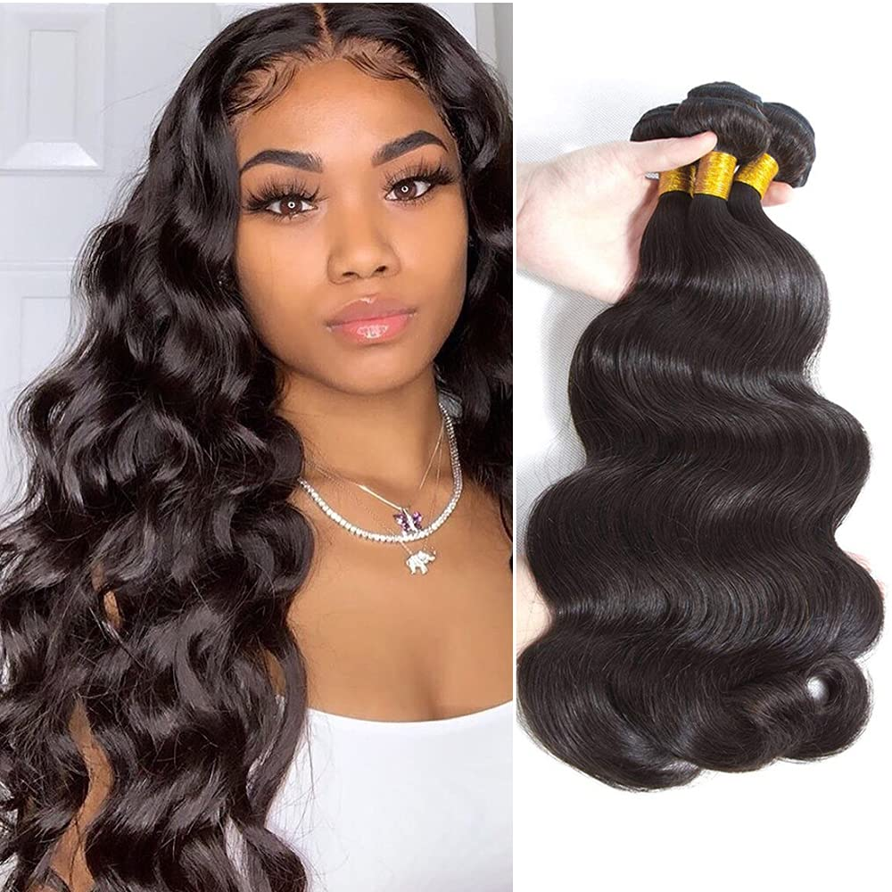 Brazilian Philadelphia Mall Body Wave Human Hair Brazil Max 48% OFF Bundles Unprocessed 100% 3