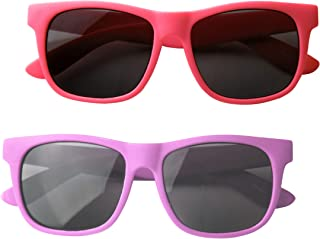 Vintage– Best First Sunglasses for Infant, Baby, Toddler, and Kids. 100% UV Protection.