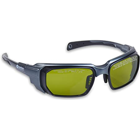 Lazerlenz Laser Goggles Multi Wavelength 755 & 808 & 1064 Modern Wrap-Around Medical Eyewear for Medical Doctor and Laser Technician