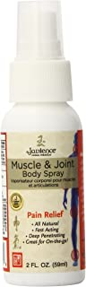 Jadience Muscle & Joint Pain Relief Body Spray – 2oz | For Back, Neck, Shoulder, Knee, & Ankle Pain Relief | Pleasant Scen...