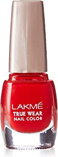 Lakmé True Wear Nail Color, Red 501, 9ml