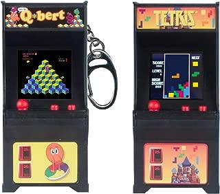 Tiny Arcade Games Bundle Set of 2 - Tetris and Qbert