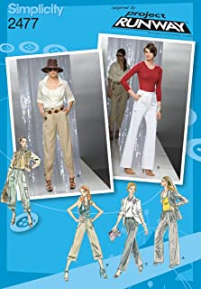 Simplicity Sewing Pattern 2477 Misses Pants, P5 (12-14-16-18-20)