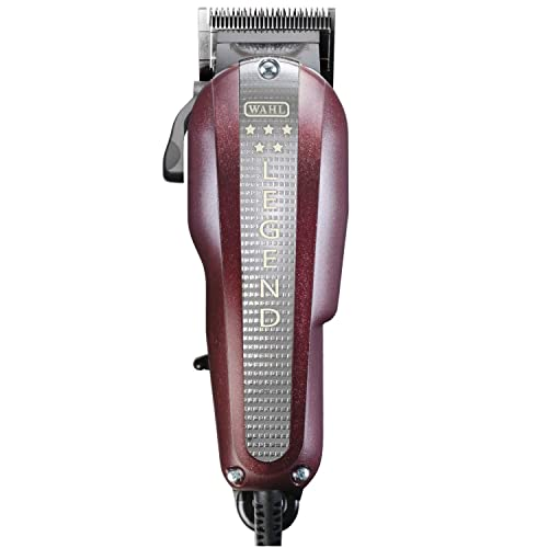 Wahl Legend - Cortapelos, ancho de corte: 40 mm, Rojo: Amazon.es ...