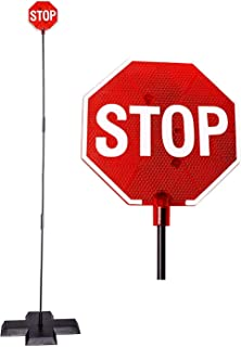 Cobra Tuning LED Stop Sign Parking Assistant for Garage with Flashing Signal