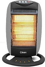 Clikon Halogen Room Heater, 3 Heat Settings, 1200 Watt, Grey - Ck4209-N