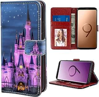 Samsung Galaxy S9 Wallet Case (2018) America Castle Disney USA