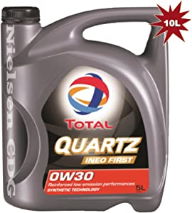 TOTAL Quartz Ineo First 0w30 Fully Synthetic Engine Oil 2x5L 10 Litre