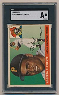 1955 Topps Roberto Clemente #164. SGC Authentic. Rookie