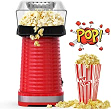 Hot Air Popcorn Maker Machine, Popcorn Popper for Home, ETL Certified, BPA-Free, No Oil, Healthy Snack for Kids Adults, Re...