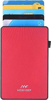 Pop Up Card Wallet RFID Blocking Credit Card Holer Slim Metal Card Case Minimalist Aluminum Wallet for Men and Women