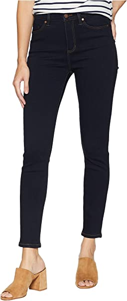 Bridget High-Waist Ankle in Super Soft Stretch Denim Jeans in Indigo Rinse