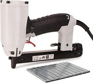 Corded Electric Staple Gun Kit, KeLDE UL Certified 120V Power Carpet Stapler and Staples for Upholstery, with 148-Inch Long Cord, Includes 1680pcs 0.18x055 Inch Staples Set