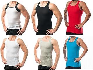 Different Touch Men's G-Unit Style Square Cut Underwear Shirt