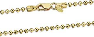 Best womens gold ball chain necklace Reviews