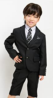 (アリサナ) arisana入学式スーツ5点セット(紫シャツ) ボーイズ