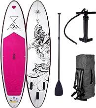 SUP Board Stand Up Paddle Damenboards 4 Modelle 300x76x15cm aufblasbar bis 115KG für..