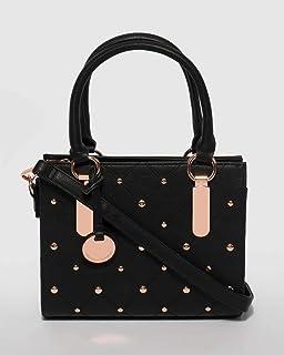Black Karli Mini Tote Bag