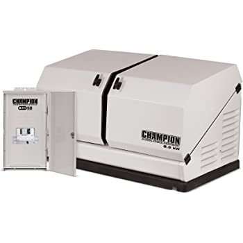 Champion 8.5-kW Home Standby Generator with 50-Amp Outdoor-Rated Automatic Transfer Switch