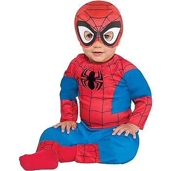New Halloween Marvel Baby Spider-Man Costume Bodysuit Romper Spider Man