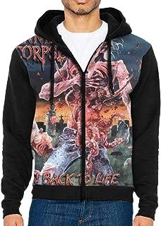 TonSimpsony Cannibal Corpse Eaten Back to Life Man Leisure Jacket Hoodie Sweatshirt