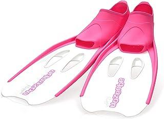 AQUAZON Aletas para niños Flipper, Aletas para bucear, Ideales para bucear con esnórquel, bucear o como Aletas de natación, Aletas para bucear con esnórquel
