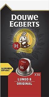 Douwe Egberts Koffiecups Lungo Original (100 Capsules, Geschikt voor Nespresso* Koffiemachines, Intensiteit 06/12, Medium ...