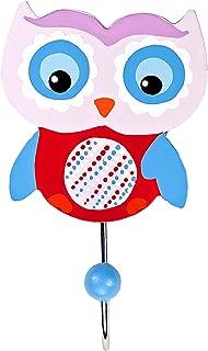 Kids Owl Coat Hook Wall Hooks