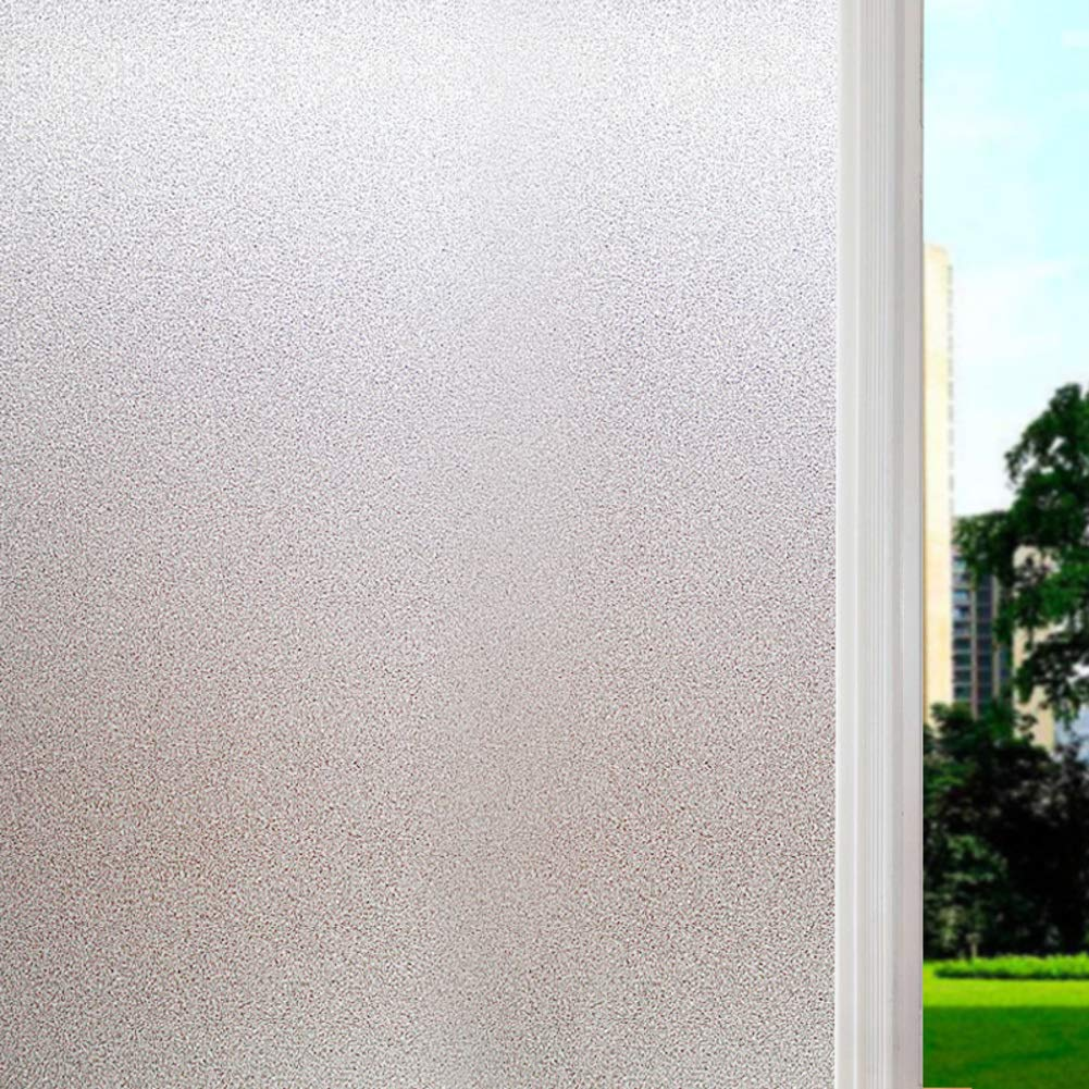 DENG&JQ - Pequeño graviera estática 3D sin Pegamento, película de Cristal, Mate, antiprivacidad translúcida para salón, decoración de Puerta corredera, Vinilo, c, 120x200cm(47x79inch): Amazon.es: Hogar