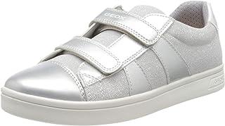 Geox J Djrock Girl C, Sneakers Basses Fille