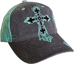 Cherished Girl Women's Amazing Grace Cross Cap Cap -