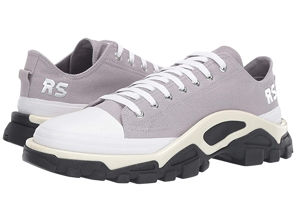 adidas by Raf Simons Raf Simons Detroit Runner (Silver/Silver/Core Black) Athletic Shoes