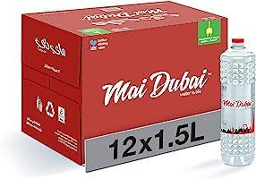 زجاجة مياه ماي دبي، عدد 12× 1.5 لتر
