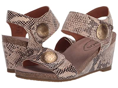 Taos Footwear Carousel 2 (Taupe Snake) Women