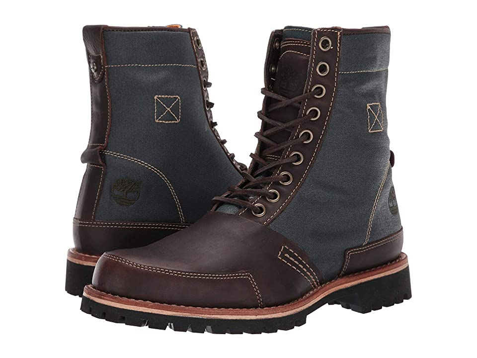 Timberland LTD Leather Fabric Boot (Mulch) Men