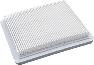 vhbw - Filtro de aire de papel para cortacésped John Deere 70 PE, 74 PM, 74 SE, 74 SM, 84 SM, 210 G, 214 G, 215 G, 225 G, 1500, 13,2 x 11,5 x 2,1 cm, color blanco