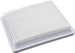 vhbw Papieren luchtfilter 13,2 x 11,5 x 2,1 cm wit geschikt voor Sabo 43-A Economy, 43-Vario, 43-Vario E, 47-Economy, 47-V...