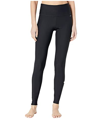 Nike Slim Fit Swim Leggings (Black) Women